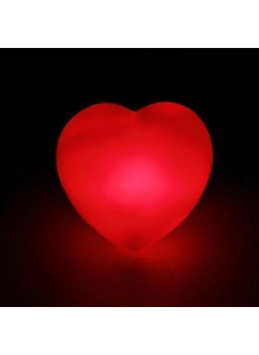 JBL Masaüstü Dekor Kırmızı Kalp Led Işıklı Gece Lambası Renkli